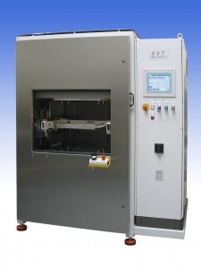 Cámara de termosellado para chalecos antibala NIDEC