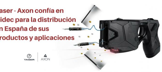 Taser – Axon confía en Nidec para la distribución en España de sus productos y servicios