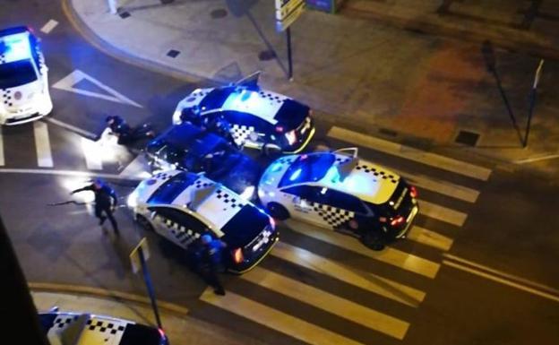 Persecución policía local españa