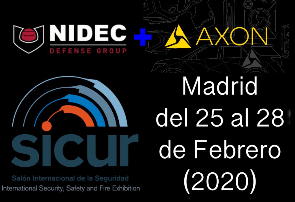 Nidec y Axon en SECUR 2020