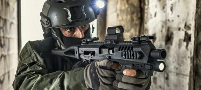 Convierte en arma larga tu arma corta con el kit RONI