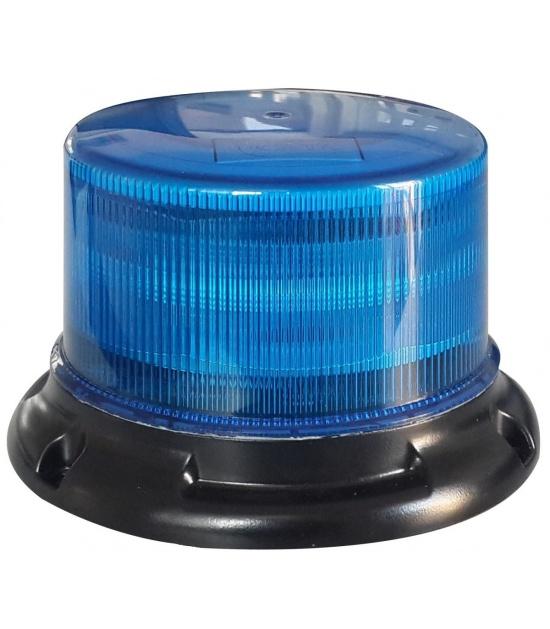 piloto rotativo policial azul